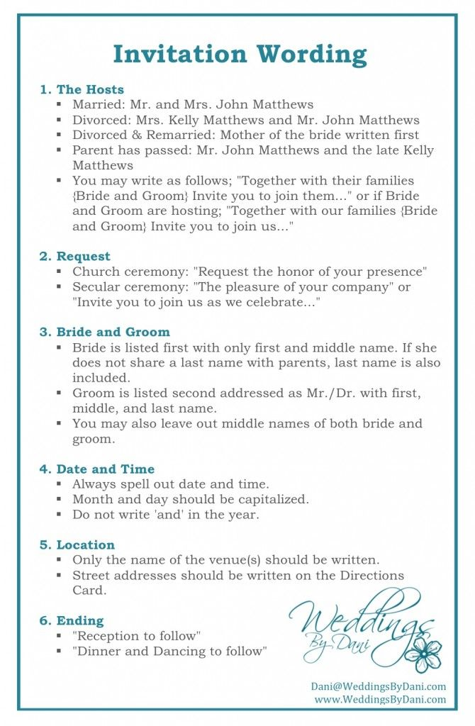 Wedding Invitation Wording #invitationtips #weddingplanning { wedding invitations }