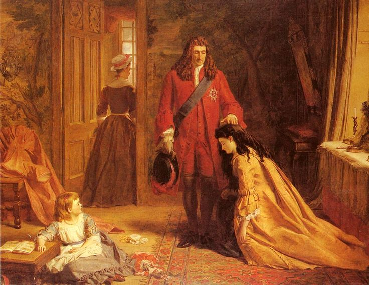 'AN INCIDENT IN THE LIFE OF LADY MARY WORTLEY MONTAGUE' by William Powell Frith