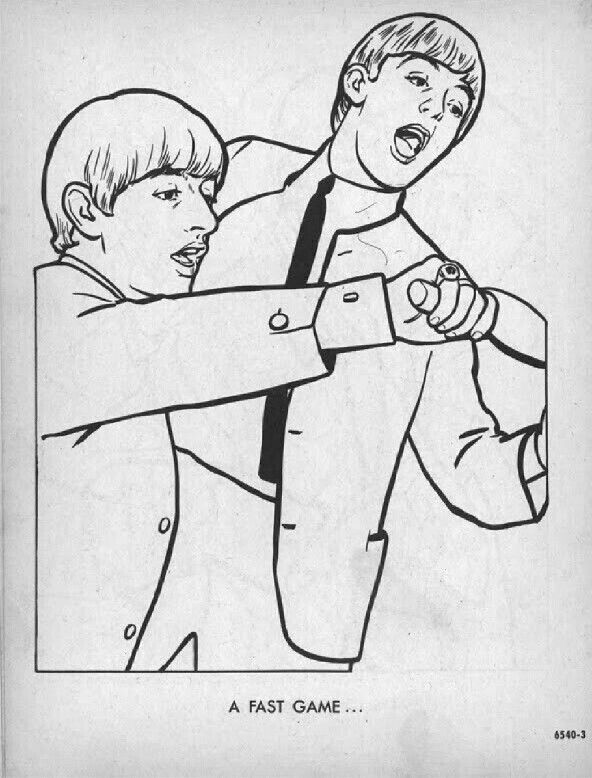 Free Download The Beatles Coloring Pages