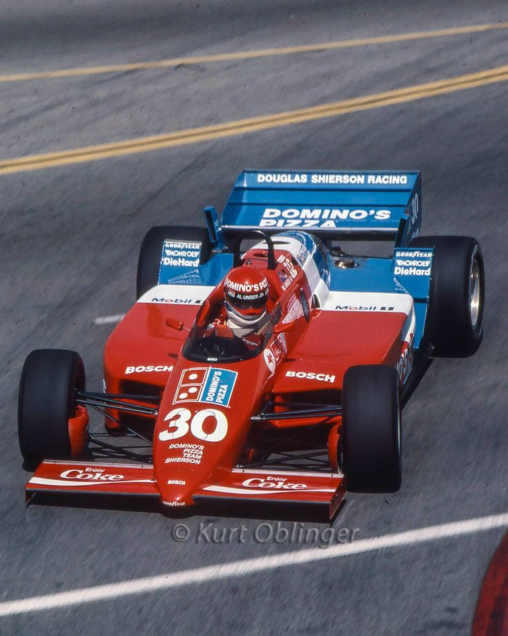 Bobby Rahal Toyota >> Al Unser, Jr. - Lola T900 Cosworth - Doug Shierson Racing ...