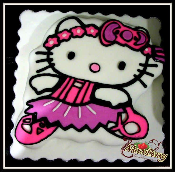 Hello kitty ballerina cake pasteles infantiles ni as pinterest ballerina hello kitty and - Ballerine hello kitty ...