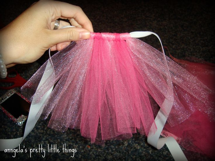 Dog Tutu Dress Pattern | You can see the lighter pink has a shimmer effect compared to the ...
