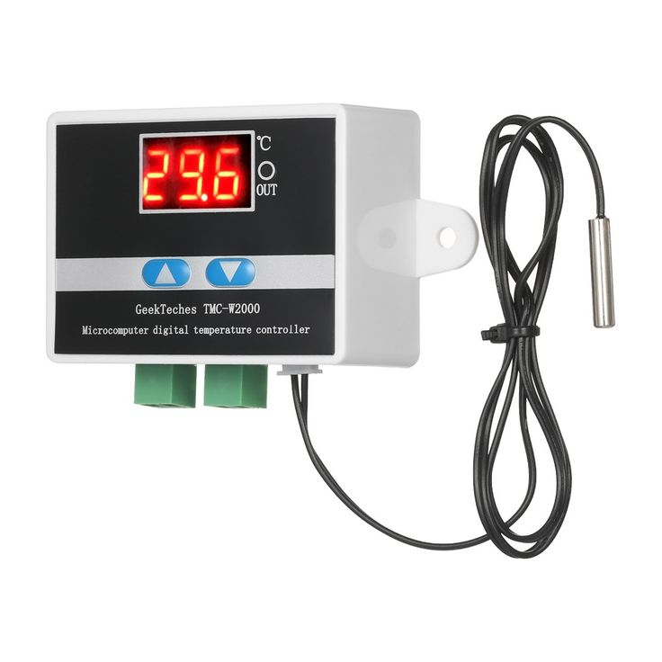 GeekTeches TMC-W2000 DC12V High Precision LCD Digital Sale Online Shopping #1 - Tomtop.com