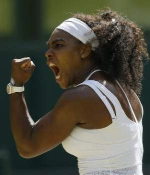 The Latest: Williams wins Wimbledon title for the 6th time