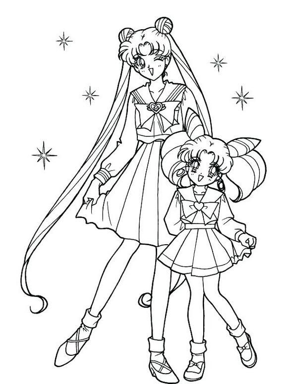 Big Sister Coloring Pages Sailor Moon With Wonderful Lol Surprise Little S Sailor Moon Coloring Pages Moon Coloring Pages Coloring Books