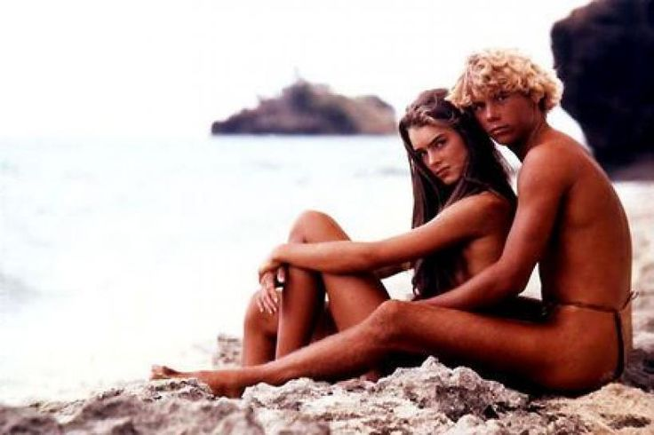 The Blue Lagoon Movie. Brooke Shields and Christopher Atkins.