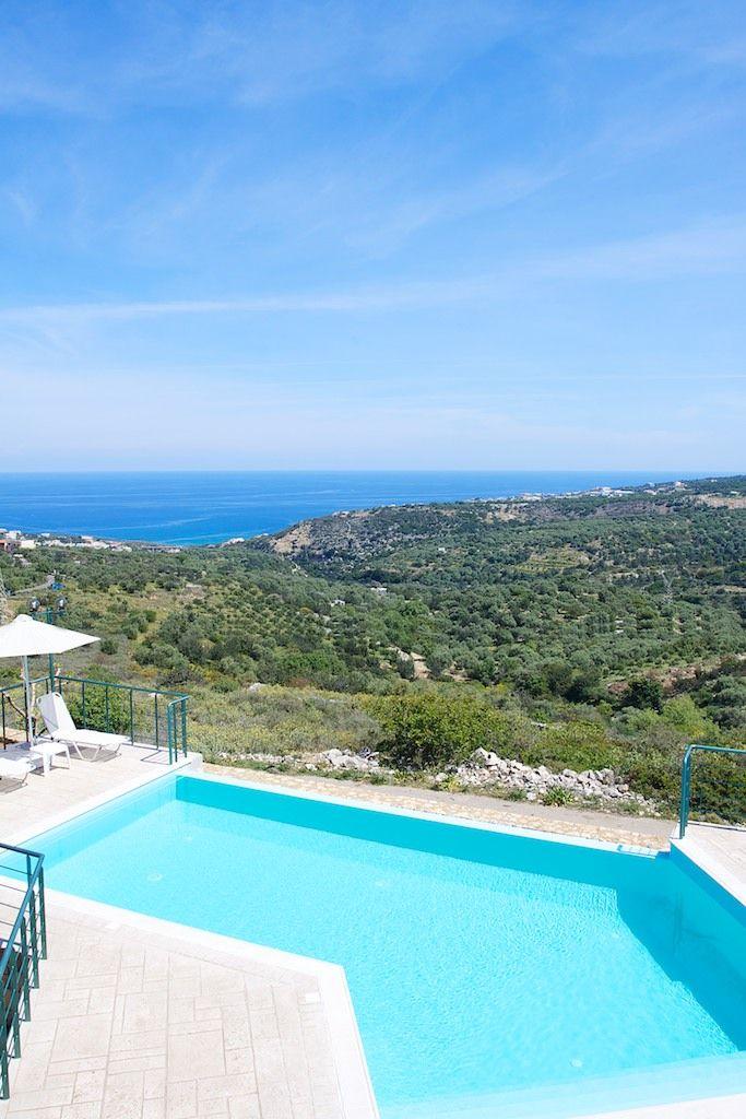 fradellosvillas.gr Villa Chrissi in Gerani, Rethymno - Crete #villa #rethymno #crete #greece #vacation_rental #private #luxurious_accommodation #summer_in_crete #visit_greece #pool #love_the_view