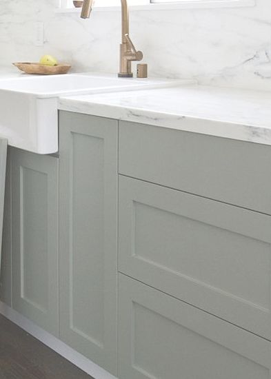 This is farrow & ball pigeon.. can be color matched to Bm or sherwin- love love love this color