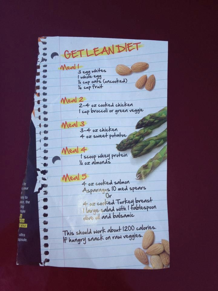 lean muscle diet plan pdf