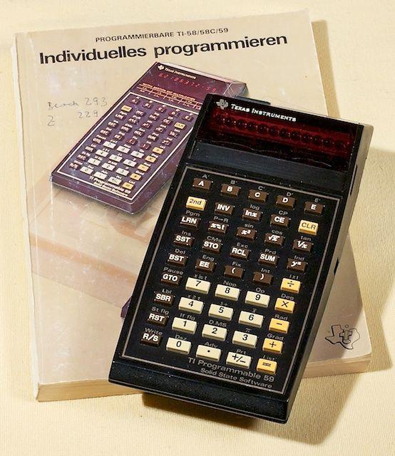Texas Instruments TI-59. Calculadora programable