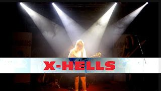 Moni Hagmann : X-HELLS - Highway to Hell For Those About to Rock   About X-Hells is a female AC / DC tribute band which has been rocking the festival platforms of Europe for many years! X-Hells - Highway to Hell feat. Christina (guit.) & Josefine (drums) Rocktober-Festival 7er Club Mannheim 2017/10/06 X-HELLS - For Those About to Rock Moni Hagmann