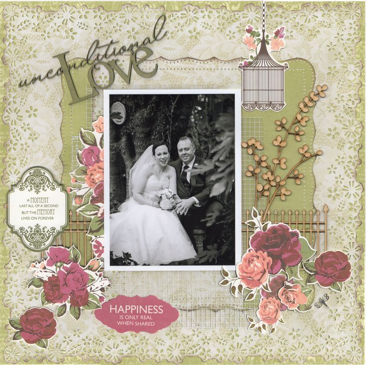 Wedding Scrapbook: 17+ Images About Wedding Scrapbooking Layouts On Pinterest