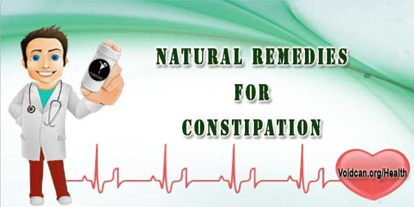 Voidcan.org shares with you simple and easy natural remedies for constipation.