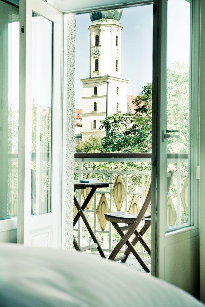 Beautiful view from Hotel Wiesler in Graz. #hotel #graz #view #austria #visitaustria