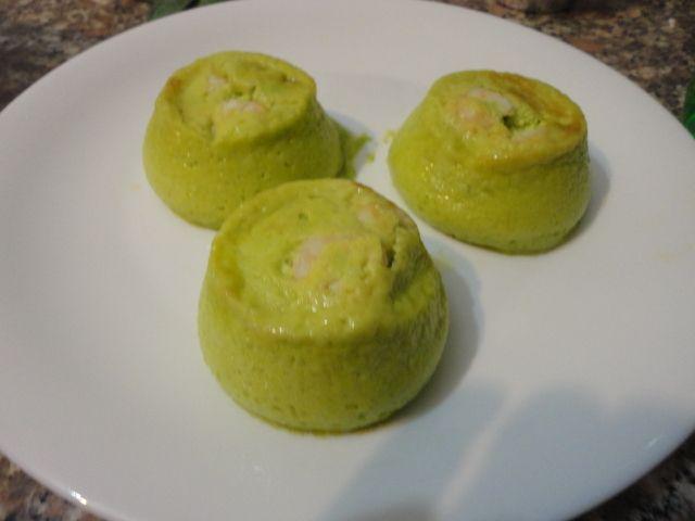 Sformatini di zucchine e gamberi TM5 - http://www.food4geek.it/sformatini-zucchine-gamberi-tm5/