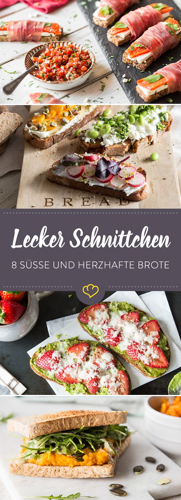 Brotaufstrich und wilde Toppings