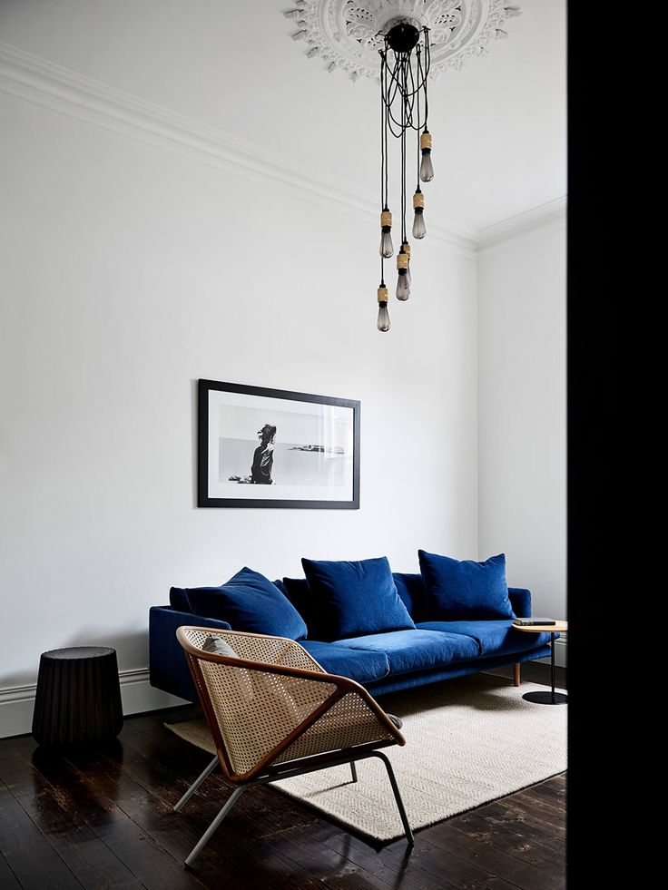 Living Room | Spotted Gum Northcote House by Taylor Knights | est living | that couch!