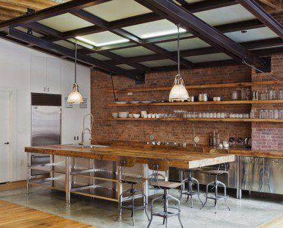 die besten 25+ offene küchenregale ideen auf pinterest ... - Küchen Regale Holz