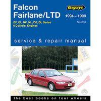 Ford Falcon EF-EL/Fairlane NF-NL/LTD DF/DL 1994-1998 Service Repair Manual