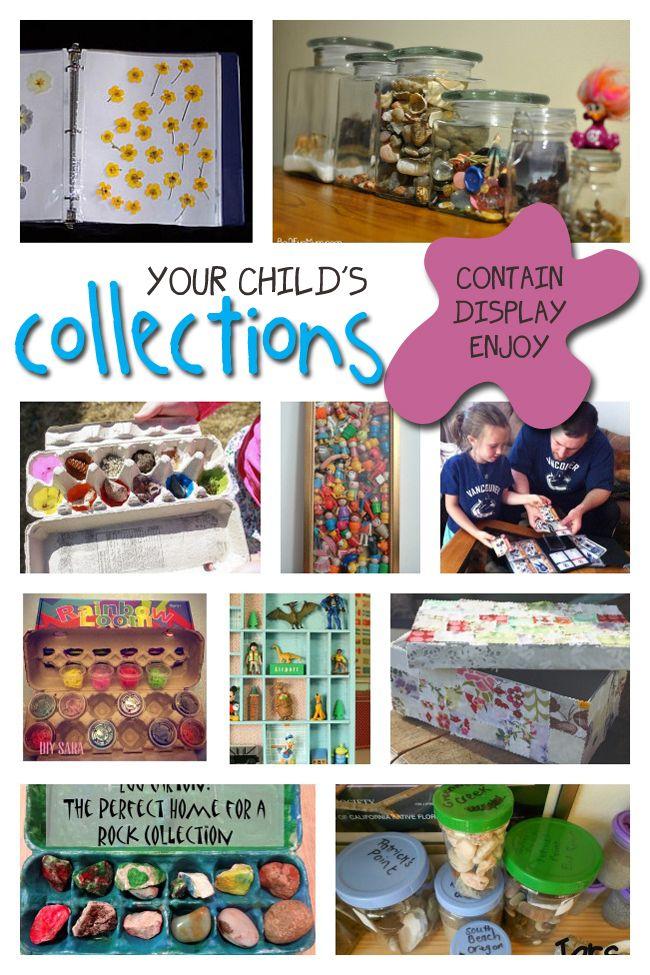 Containing your kids' collections can be a real challenge - here's how to keep them organized!