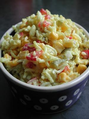 Kasza Prodżekt: Sałatka ryżowa z curry
