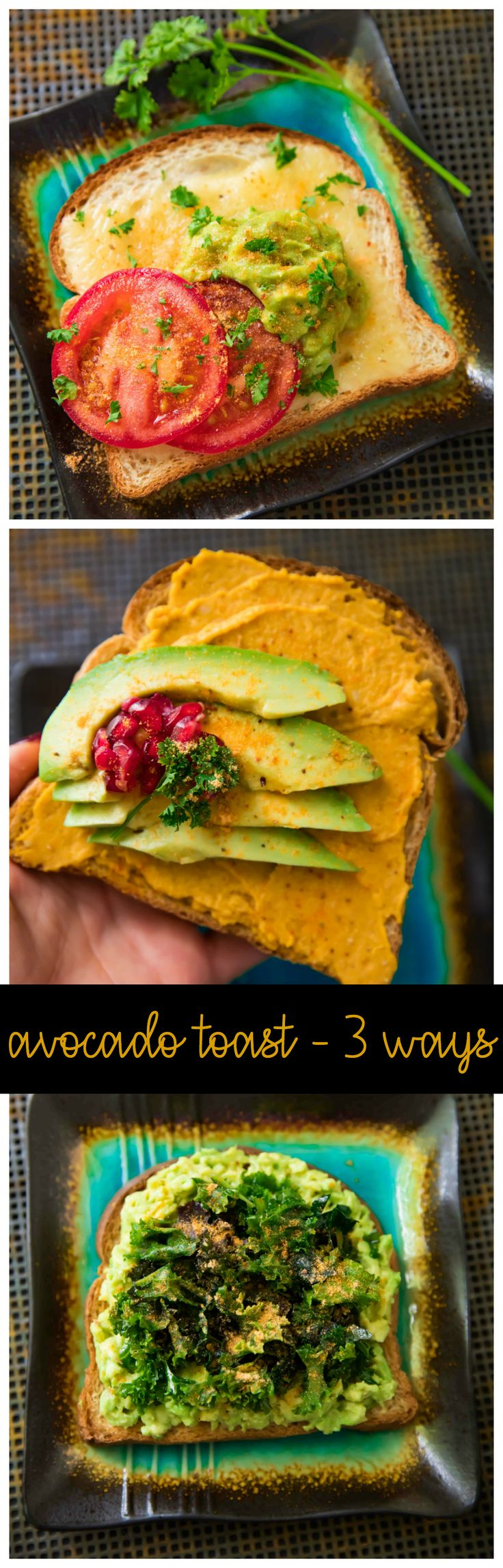 Looking for the quickest, most delicious and easiest breakfast or snack? These ideas for Avocado Toast Three Ways are exactly that! #AD #LeaveBlandBehind