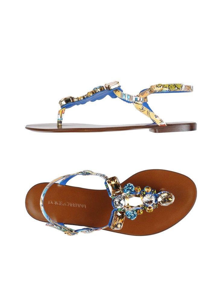 Dolce & Gabbana Flip Flops - Women Dolce & Gabbana Flip Flops online on YOOX United States - 11260570EB