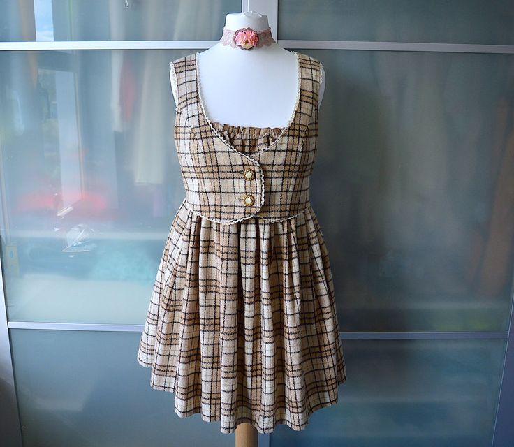 Best 25+ Tartan Dress Ideas On Pinterest