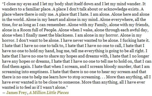 -A Million Little Pieces, James Frey