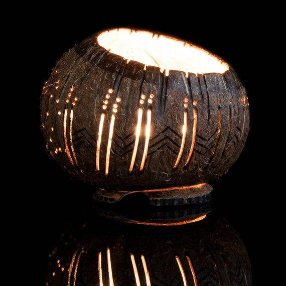 Kerze Schussel Beste Geschenk Kunst Holzschnitzerei