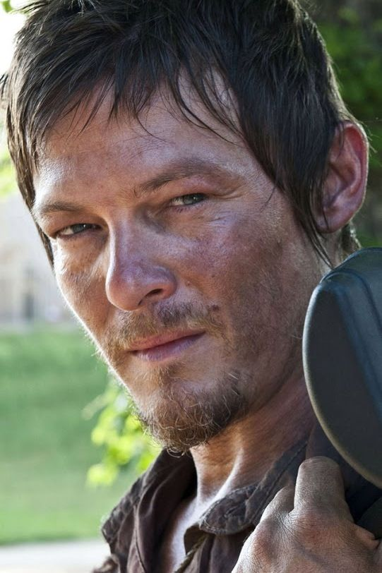 Daryl from TWD.  My favorite badass on tv right now.  :)