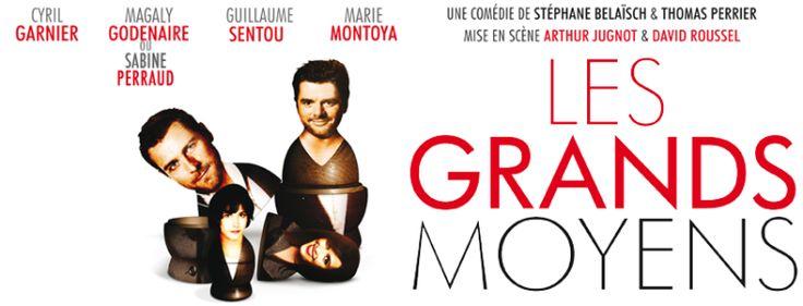 Théâtre : Les grands moyens d'Arthur Jugnot et David Roussel