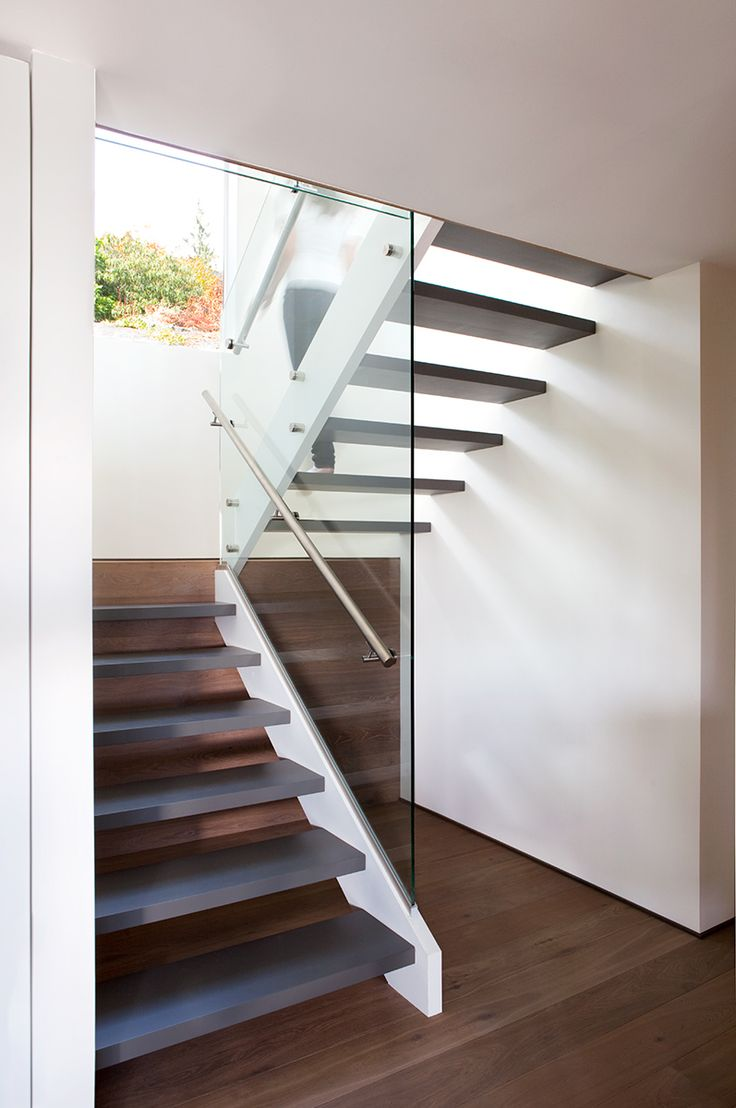 A great example of glass guards by Splyce Design
