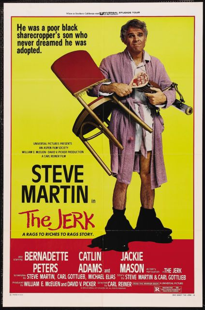 The Jerk Movie Poster 1979 Steve Martin Carl Reiner | eBay