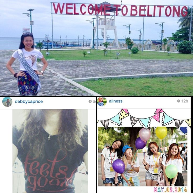 Latest Customer Instagram Feeds - Puteri Indonesia Bangka Belitung & Fashion Blogger Aiiness is strutting out charity tees.