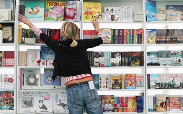 Festivals are thriving and children's books sales are outperforming the rest   of the market as Children's Book Week starts.