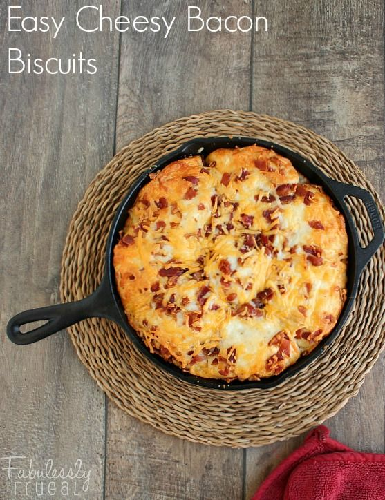 Biscuits, Bacon and 30 minutes or less on Pinterest