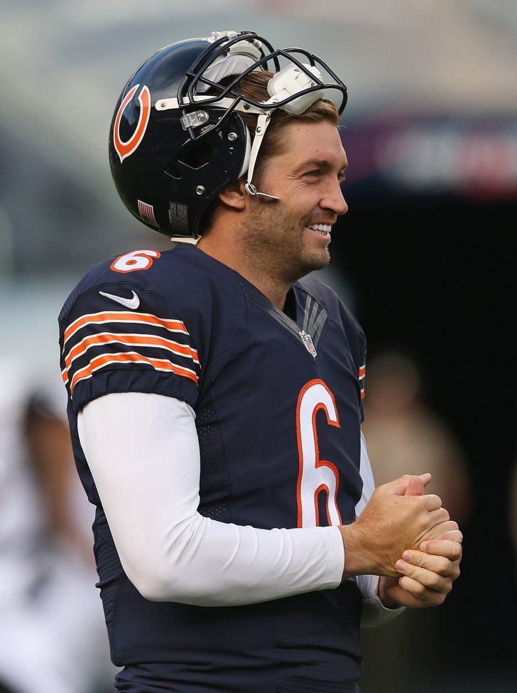 "Pin for Later: 30 Hot NFL Quarterbacks Who Give New Meaning to ""Fantasy Football"" Jay Cutler, Chicago Bears"
