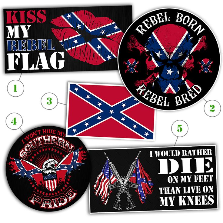 *Southern Pride Sticker Collection (5 Stickers)