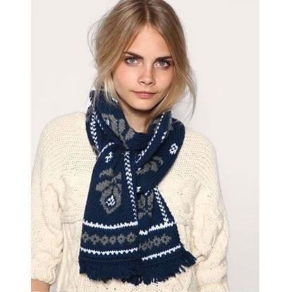 Cómo usar una bufanda de mujer - 7 pasos (con imágenes)