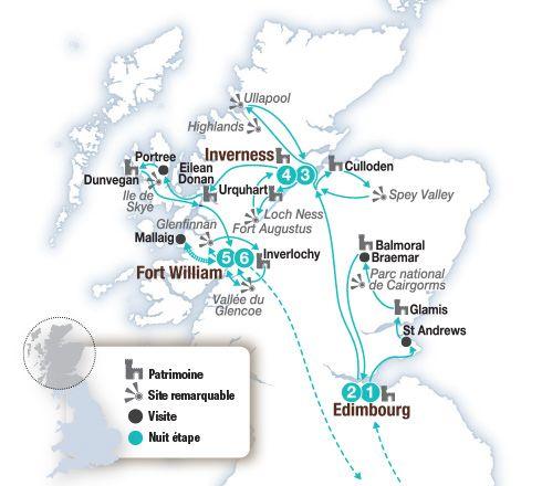 Circuit voiture en Ecosse, sublime Ecosse, entre traditions et grands espaces - Brittany Ferries