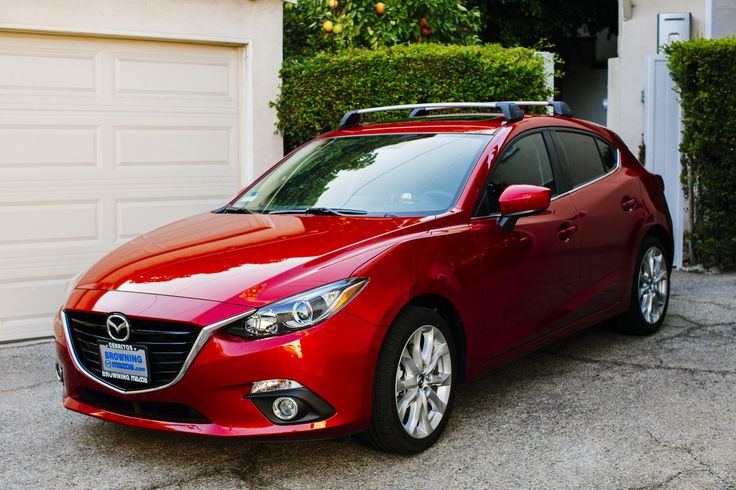 2014/2015 Mazda 3 OEM Roof Rack Installation | The Garage ...