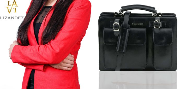 Tania Large Ladies Leather Handbag perfect for both work & play.