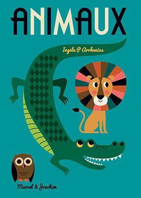 Animaux de Ingela P Arrhenius Trente-deux animaux dans un livre GÉANT !  Hâte de le découvrir en octobre prochain!