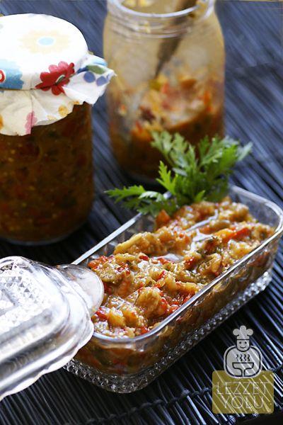 Kışa Hazırlık   Lutenica-Köz patlıcan ve biber konservesi   Lezzet Yolu   Denenmiş Resimli Yemek Tarifleri, Mekanlar, Haberler, Şefler ve Daha Fazlası