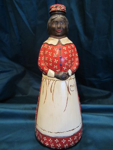 Hand Painted Aunt Jemima Syrup Bottles