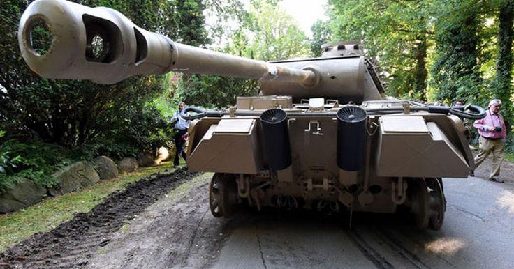 Idoso tem tanque e arma antiáerea apreendidos em casa na Alemanha