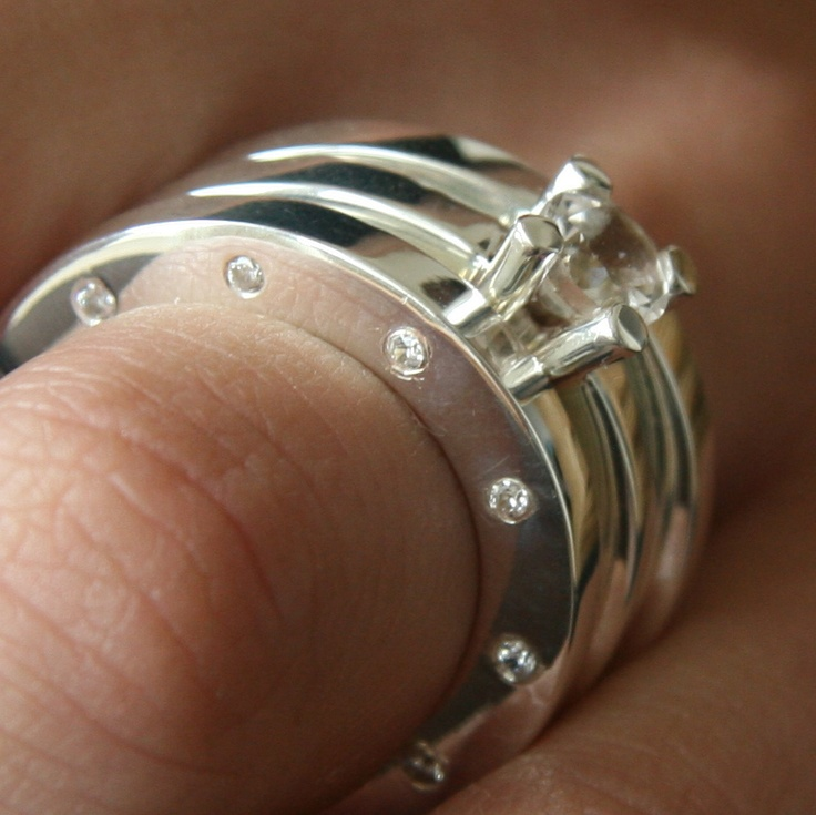 Sparkling rings