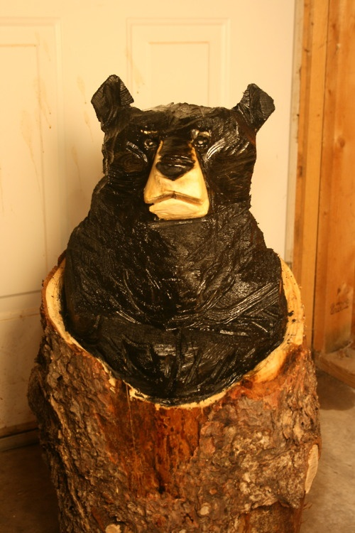 Best images about chainsaw carving on pinterest red