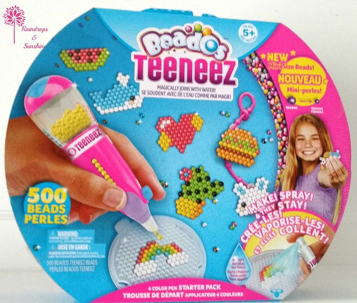 My daughter is really enjoying making lots of Teeneez creations to go on her school bag. She finds having a pair of tweezers on hand useful.Starter pack